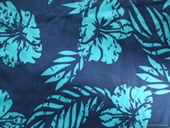 Printing swimwear fabric