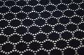 Nylon polyamide spandex knitted jacquard swimwear fashion modern fabric  3