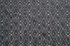 Polyester ploy spandex jacquard knitted yarn dyed elastic dyed printed fabric