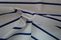 锦纶涤纶氨纶拉架条子条纹皱布泡泡布色织针织面料 2