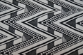 Poly polyester spandex jacquard yarn dyed knitted elastic swimwear fabric 5