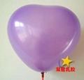 12寸珠光心形气球