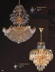 Luxury Hotel Crystal Chandelier Lamp