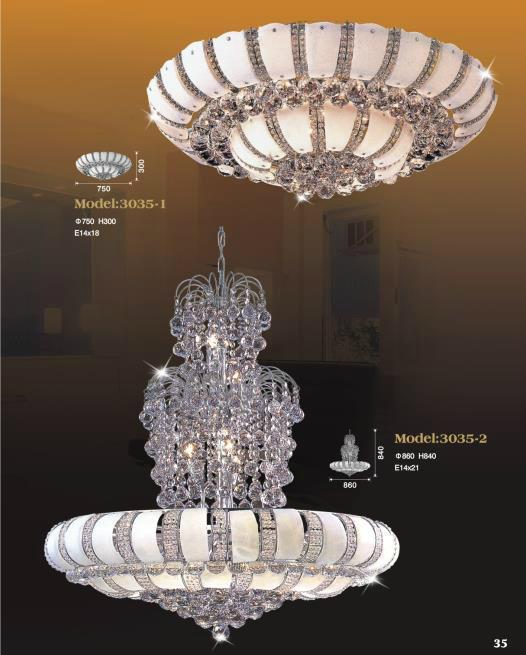 Luxury Hotel Crystal Chandelier Lamp 2