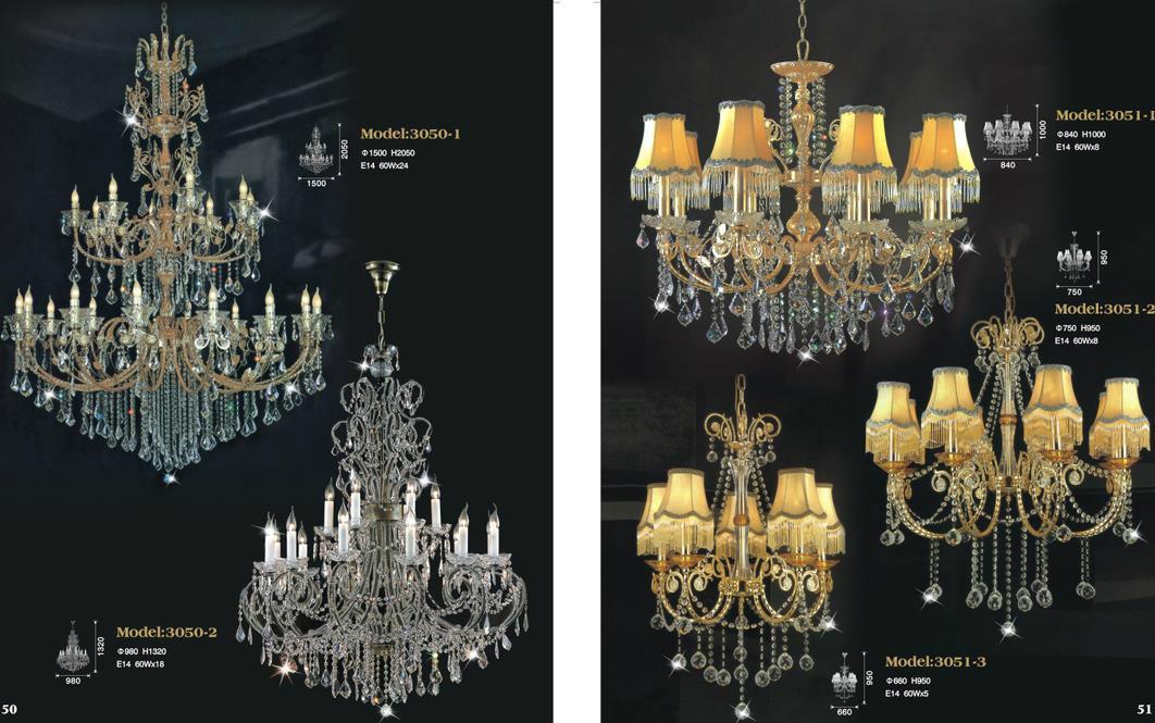 Luxury Hotel Crystal Chandelier Lamp 4