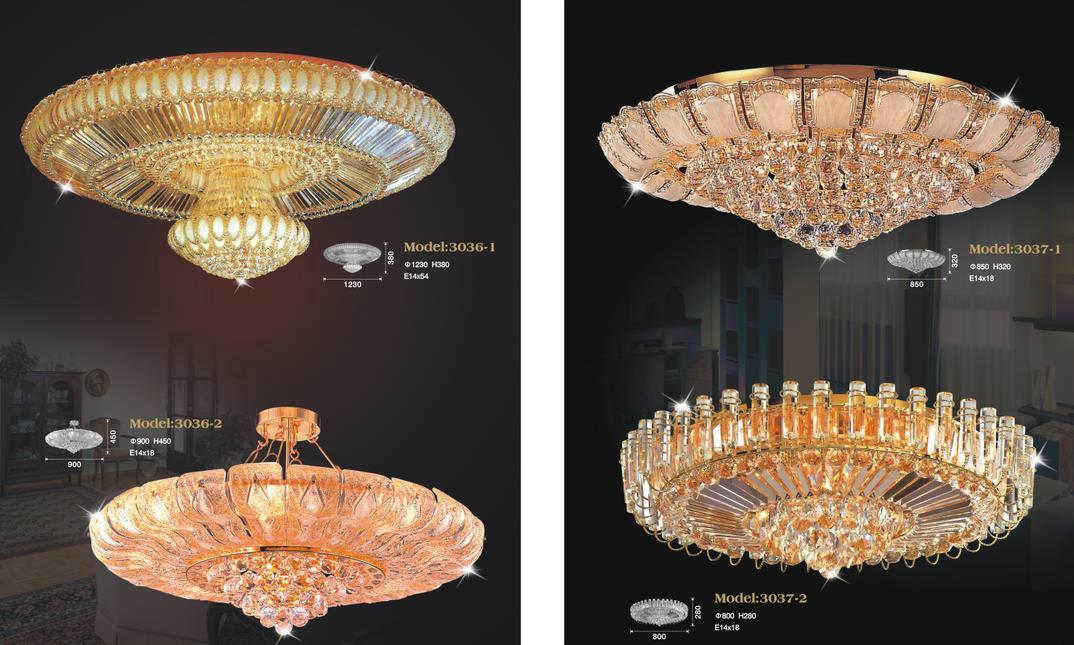 Luxury Hotel Crystal Chandelier Lamp 5