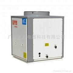 低温喷气增焓热泵