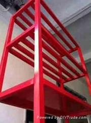 不鏽鋼烤漆展示放置架