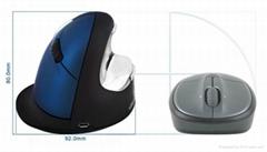 EV人体工学无线鼠标防鼠标手垂直鼠标