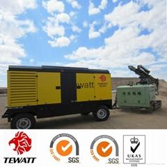 China diesel portable high pressure air compressor manufacturer