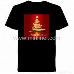 Chirstmas gift el music t-shirt