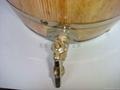 仿古色木酒桶 2