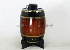 立式木酒桶