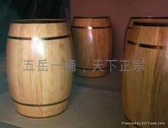 裝飾木酒桶