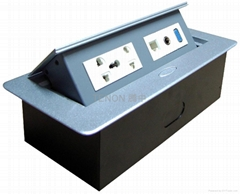六位桌面插座