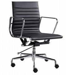 aluminum eames office chair