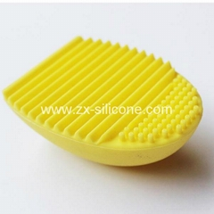 Silicone Makeup Brush Cleaning Cleaner Silicone Makeup Brush Egg