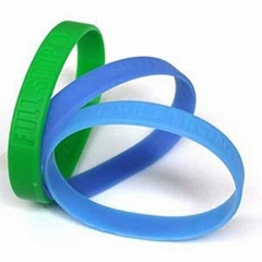 Silicone Personalized Wristbands