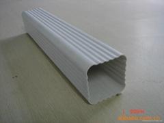 上海方形雨水管PVC天沟成品檐沟