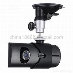 "2.7"" Dual Lens Nigh Vision HD Car Dashboard DVR + GPS Logger"