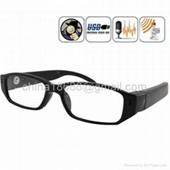 1280x720 HD 30fps Spy Eyewear Glasses Camera Hidden Mini DVR with TF slot
