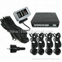 Parking Sensor Dual CPU System Weatherproof Step-up Alarm