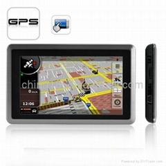 5 Inch Touchscreen GPS Navigator (AV + Bluetooth) - High Position Accuracy GPS