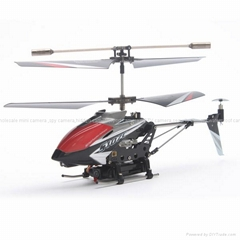 Metal Infrared Control Syma S107C Red/Black/White Color Helicopter - 3D Flight