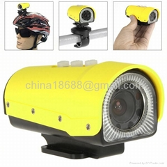 Mini Sports Camera DV HD 1080 x 720 Action Waterproof Digital Video Camera