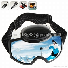 720p Ski Sport Goggles Glasses With 12M Pixel Video Camera