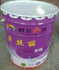 利荅水漆外牆塗料防水防晒油漆健康環保耐持久白色乳膠漆