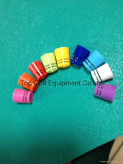 Colorful Golf Ferrule with Silver Ring