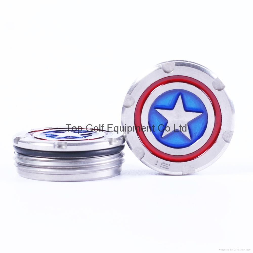 Captain American Golf Putter Weight for Scotty Cameron Putter 5/10/15/20/25/30g 2