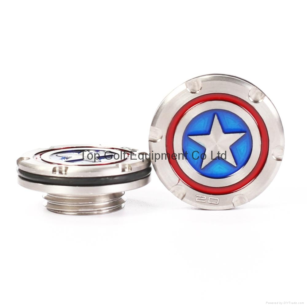 Captain American Golf Putter Weight for Fastback Squareback 5/10/15/20/25/30g 5