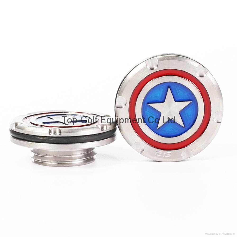 Captain American Golf Putter Weight for Fastback Squareback 5/10/15/20/25/30g 8