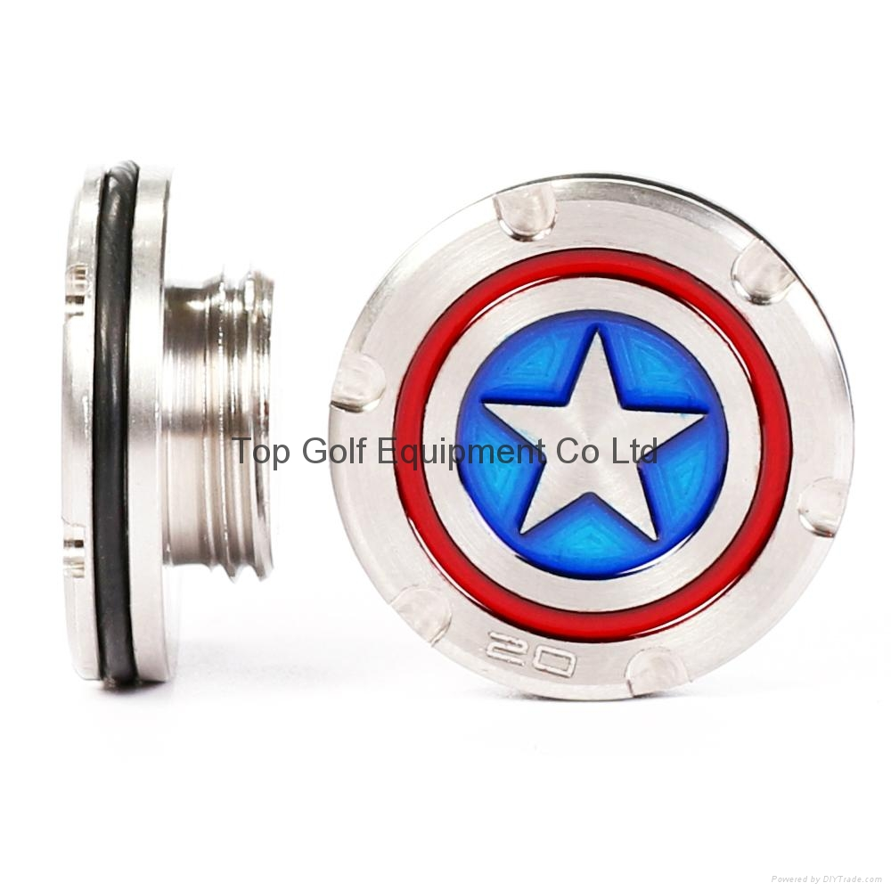 Captain American Golf Putter Weight for Fastback Squareback 5/10/15/20/25/30g 1