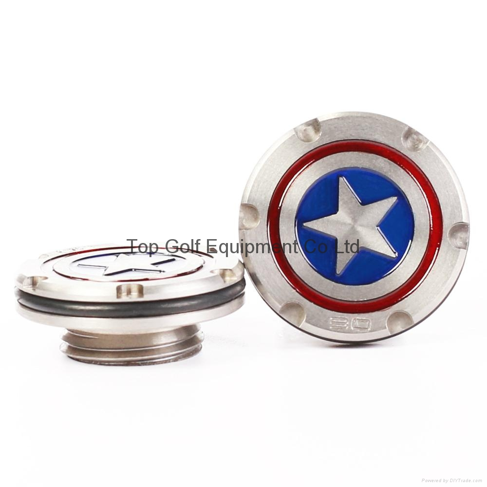 Captain American Golf Putter Weight for Fastback Squareback 5/10/15/20/25/30g 10