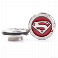 15g Superman Golf Putter Weight for Squareback Fast back, Red / Blue