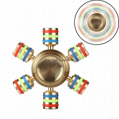 Brass Metal Copper Fidget Spinners Hand Spinner EDC Novelty Decompression Toy