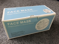 3 Ply Nonwoven Disposable Medical Face Mask Surgical N95 KN95 FFP2 Facemask (Hot Product - 3*)