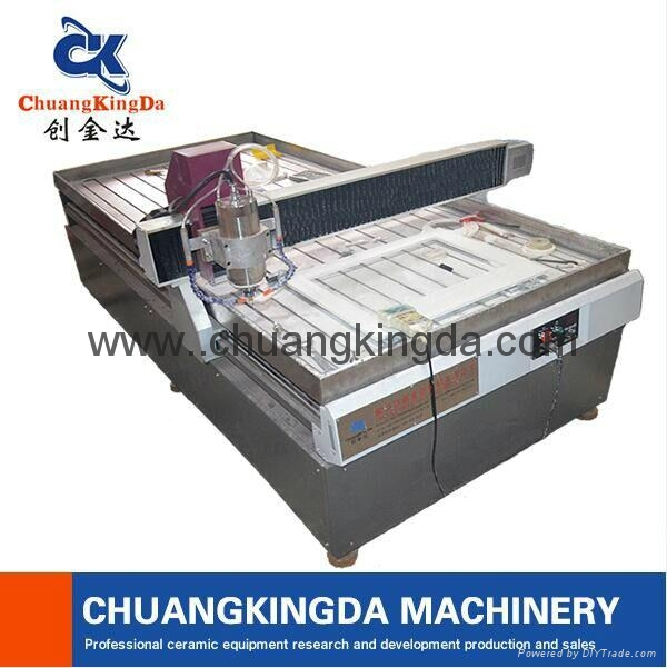 Automatic Stone Marble Granite Ceramic Tile Table Dig Holing Machine 1