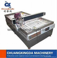 Automatic Stone Marble Granite Ceramic Tile Table Dig Holing Machine
