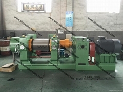 Waste Tyre Rubber Crushing Machine