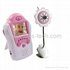 Wireless Baby Monitor Security dvr camera kit