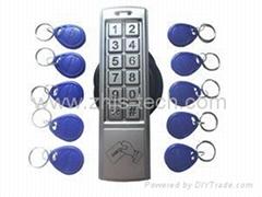 4 Wire Standalone Access control system Video Doorphone Villa intercom system