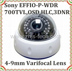 CCD CMOS 700TVL 800TV 900TVL 1000TVL Indoor infrared Dome CCTV Camera