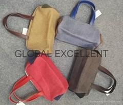 棉麻儲物籃,手提袋,環保購物袋