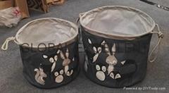 棉麻儲物籃