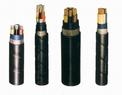 PVC Insulation & Sheath Power Cable of 0.6/1 kV or Lower