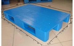 天津川字平板塑料托盘